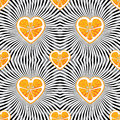 Orange on abstract background.Seamless pattern Royalty Free Stock Photo