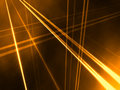 Orange Abstract LInear Perspective Royalty Free Stock Photos