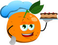 Orange as confectioner vector style illustrated vector format is available Stock Photo
