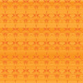 Orange background abstract with ornament Royalty Free Stock Photo