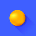 Orange Ball Royalty Free Stock Photo