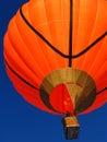 Orange balloon Royalty Free Stock Photo