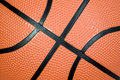 Orange basketball ball Royalty Free Stock Photo