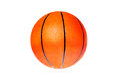 Orange basketball ball on a white background Royalty Free Stock Photo