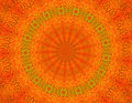Orange Batik Background wallpaper Royalty Free Stock Photos