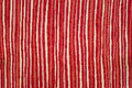 Orange, beige and red sewing fabric Stock Photos