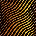 Orange and black tiger striped Royalty Free Stock Photo