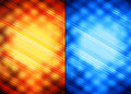 Orange and blue abstract backgrounds Royalty Free Stock Photo