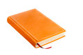 Orange book Royalty Free Stock Photo