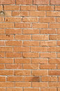 Orange brick wall Stock Image