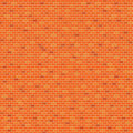 Orange brick wall pattern background vector illustration Royalty Free Stock Photo