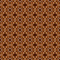 Orange and brown abstract pattern Royalty Free Stock Photography