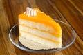 Orange cake Royalty Free Stock Photo