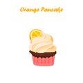 Orange cake or pie