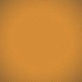 Orange carbon fiber texture background. Vector illustration