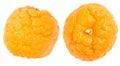 Orange cellulite peel Royalty Free Stock Images