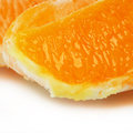 Orange close up Stock Photography