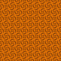 Orange colors pinwheel pattern korean traditional design series Stock Photography