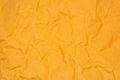 Orange creased paper Royalty Free Stock Photo