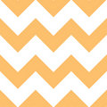 Orange Creme Chevron Pattern Stock Images