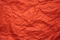 Orange crumpled paper background place for text Royalty Free Stock Images