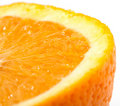 Orange cut Royalty Free Stock Photography