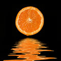 Orange de jus Images stock