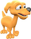 Orange Dog Stock Images