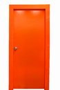 Orange Door Stock Photography