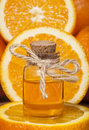 Orange Essential Oil Royalty Free Stock Photo