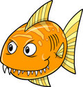 Orange fish Vector Royalty Free Stock Photography