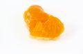 Orange flesh Royalty Free Stock Photo