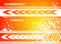 Orange Forward Royalty Free Stock Images