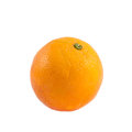 Orange fruit isolated over white background Royalty Free Stock Photo