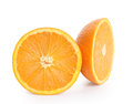 Orange fruit isolated on white background Stock Image