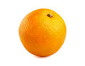 Orange fruit on a white background Stock Images