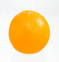 The orange fruit on white isolate background Stock Images