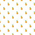 Orange fuiit Seamless pattern.