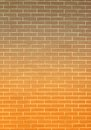 Orange gray brick wall as background or texture Royalty Free Stock Photo