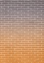 Orange gray brick wall as background or texture architecture closeup of pattern Royalty Free Stock Image