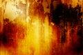 Orange Grunge Background Royalty Free Stock Photo