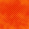 Orange halftone