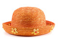 Orange Hat Royalty Free Stock Photo