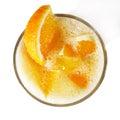 Orange Healthy Cocktail Royalty Free Stock Photo