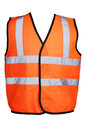 Orange Hi-Viz Vest Royalty Free Stock Photo
