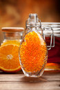 Orange and honey - Natural Spa Stock Photography