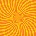 Orange hypnotic background vector illustration this is file of eps format Stock Image