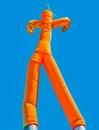 Orange Inflatable Man