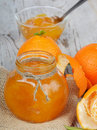 Orange jam Royalty Free Stock Photography
