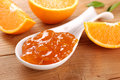 Orange jam Stock Image